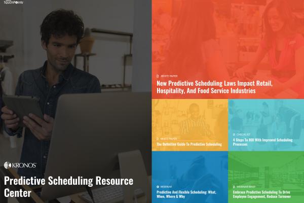 Predictive Scheduling Resource Center