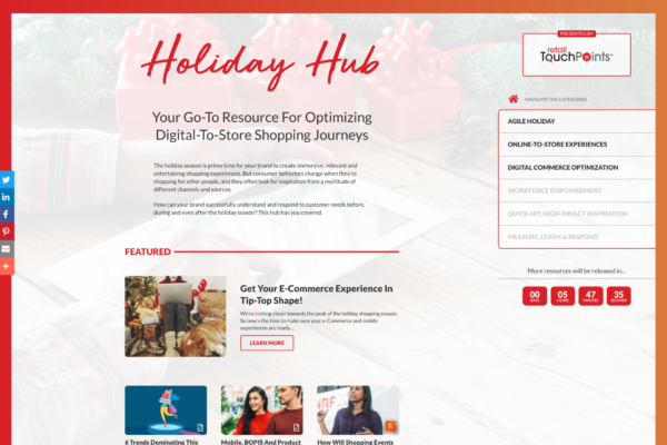2019 Holiday Hub